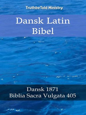 cover image of Dansk Latin Bibel